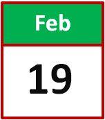 19 feb