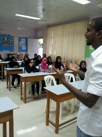 MAPS College and MAPS International High conducts information session in Raa Atoll
