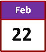 22 feb